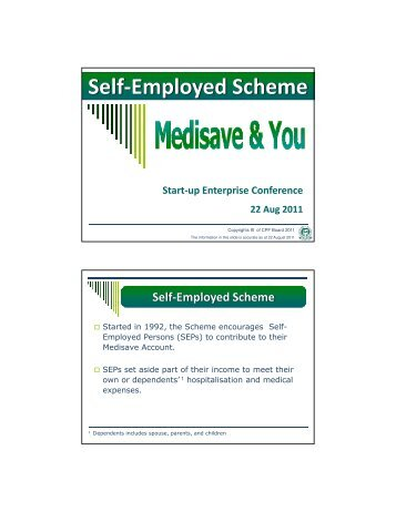Self-Employed Scheme - DP Information Network