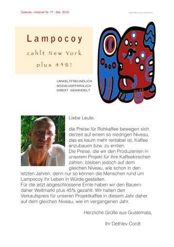 Lampocoy - Infobrief 77