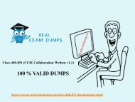 Free 400-051 Questions Answers - 400-051 Exam Dumps PDF RealExamDumps.us