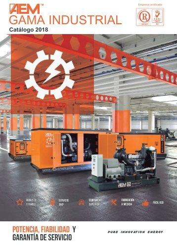 2018 - Catálogo Gama Industrial - ES