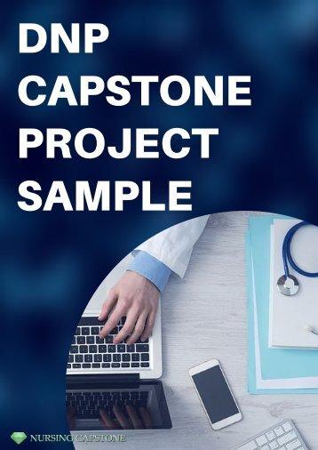 DNP Capstone Project Sample