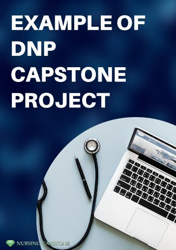 Example of DNP Capstone Project