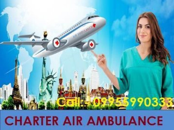 Kolkata to Delhi Patna Low-Cost Air Ambulance Medical Services