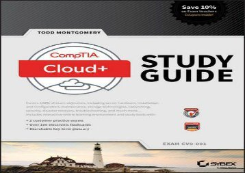 read for CompTIA Cloud+ Study Guide: Exam CV0-001  Free Online