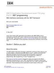 DB2 9 Fundamentals exam 730 prep, Part 1 - FTP Directory