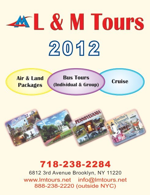 Air & Land Packages Cruise Bus Tours