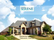 Mantri Serene New Residential Projects in Chennai