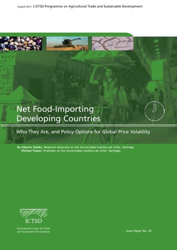 Net Food-Importing Developing Countries: Who They - ictsd