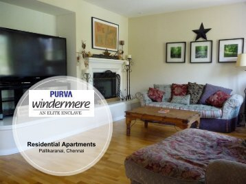 Purva Windermere Residential Apartments location in Chennai (1)