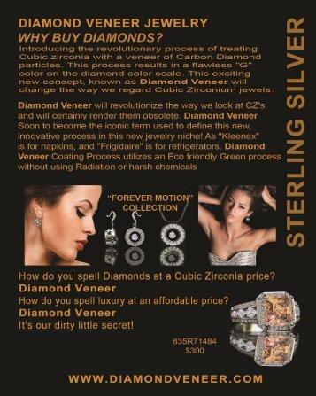 Cubic Zirconia Jewelry Store - Diamond Veneer