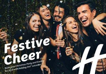 Holiday Inn Leicester Christmas Brochure 2018