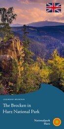 Information about the Brocken Mountain (english)
