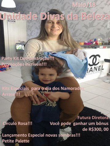 Revista- Capa  Marcia Chanel  -Maio  2018