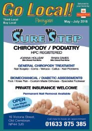Pontypool May - July 2018 FB version