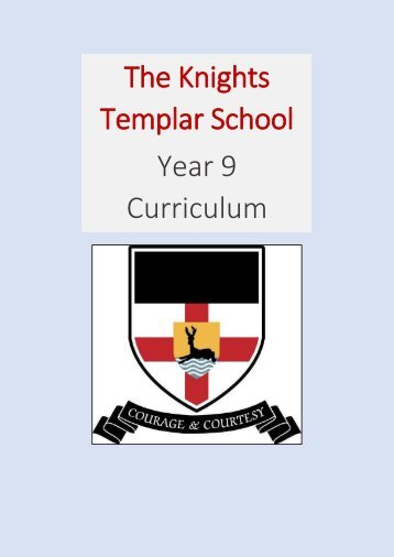 KTS Year 9 Curriculum Information 2018-19