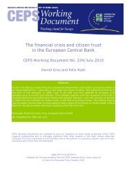 The financial crisis and citizen trust in the European Central Bank