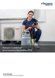 Pompes à condensat et accessoires climatiques 2018