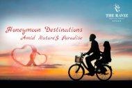 Honeymoon Destinations in kerala - Amid Nature's Paradise