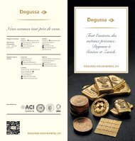 Degussa-Goldhandel - Die ganze Welt der Edelmetalle FR