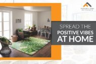 Spread the Positive Vibes at Home