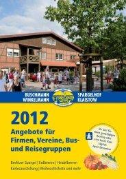 Angebote für Firmen, Vereine, Bus - Spargelhof Buschmann ...