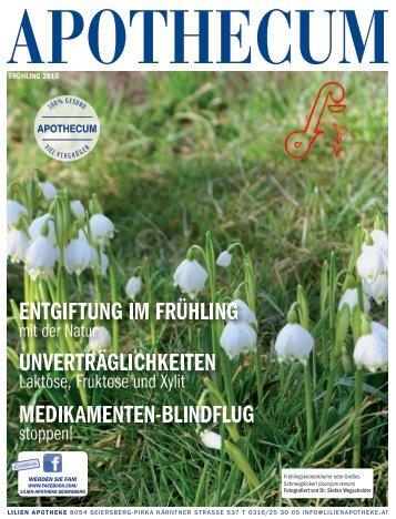 APOTHECUM Frühling 2018