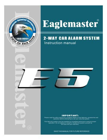 2-WAY CAR ALARM SYSTEM - Net Trading