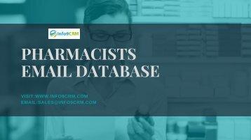 Pharmacists Email Database