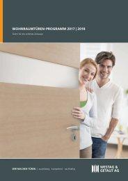 WESTAG & GETALIT: Wohnraumtüren-Programm 2017/2018
