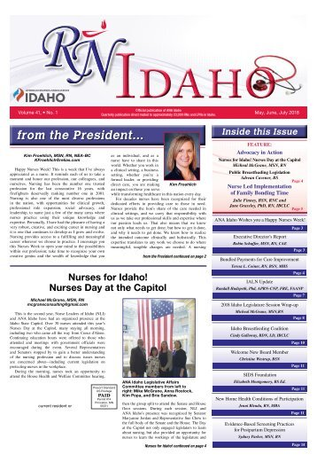 RN Idaho - May 2018