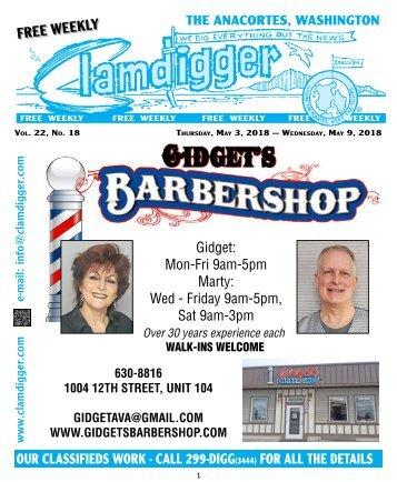 Clamdigger May3 - May 9th