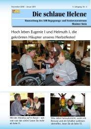 Hauszeitung Helene Ausgabe 4/2010 - ASB Begegnungs- und ...