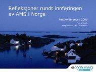 Det er farlig å spå - Energi Norge