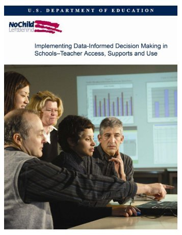 Implementing Data-Informed Decision Making in Schools - Teacher
