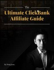 The Ultimate ClickBank Affiliate Guide