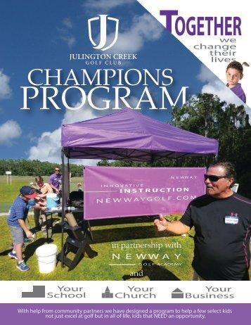 Champions Program Magazine
