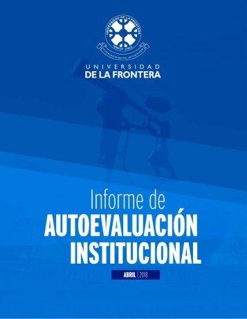 Informe Autoevaluacion Universidad de La Frontera