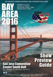 Bay Area 2016 Build Expo Show Preview Guide