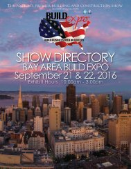 Bay Area 2016 Build Expo Show Directory
