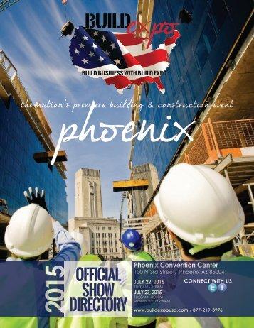 Phoenix 2015 Build Expo Show Directory