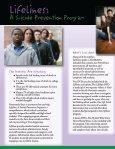 LifeLines Suicide Prevention Program - Page 2