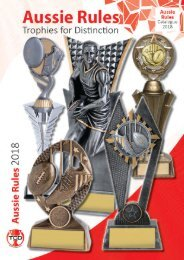 2018 Aussie Rules Trophies for Distinction
