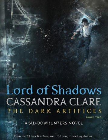 Lord of Shadows- Traducción E.N.L