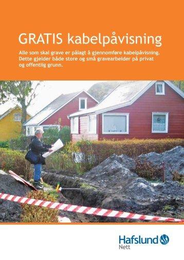 GRATIS kabelpåvisning - Hafslund Nett