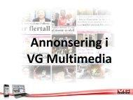 Nett, Web-TV, Mobil - Annonseinfo - VG