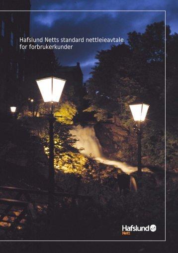 Nettleieavtale - Hafslund Nett
