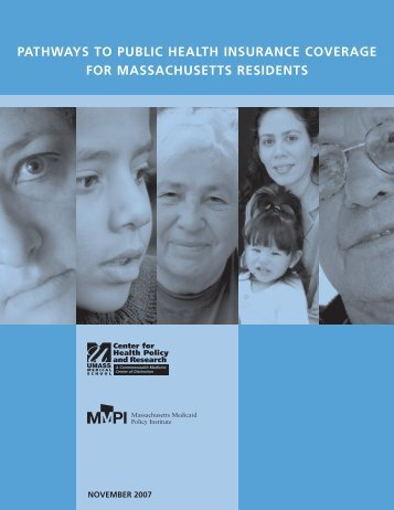pathways to public health insurance coverage for massachusetts ...