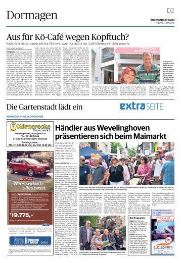 Die Gartenstadt lädt ein   -04.05.2018-