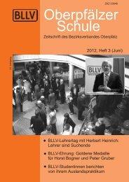 """Etter in Nittenau: """"Alles, was Recht ist"""" - Bayerischer Lehrer"""