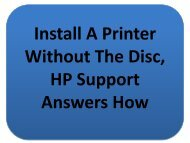 Easy Steps To Install A Printer Without The Disc